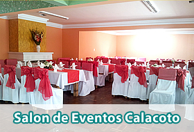 Salon de Eventos Calacoto